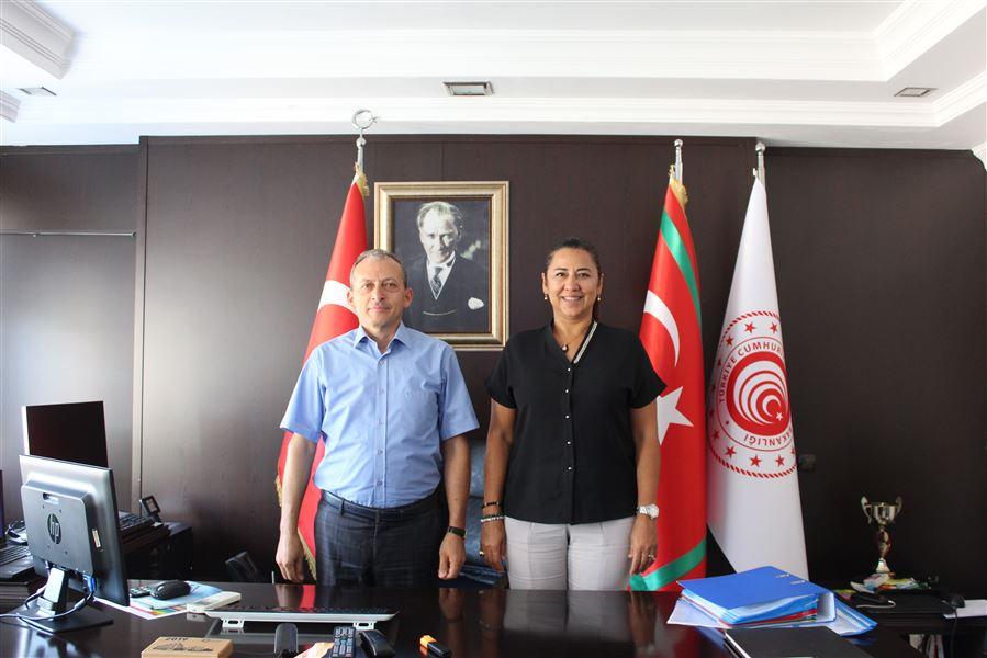 Antalya Ticaret İl Müdürü, Bölge Müdürümüzü Ziyaret Etti.