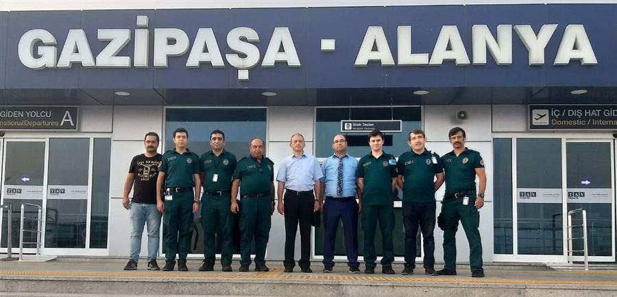 Bölge Müdürümüz Antalya İlindeki Bağlantı İdarelerimize Çalışma Ziyaretinde Bulundu