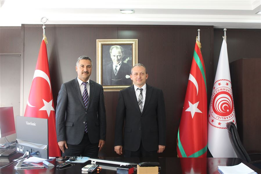 Antalya Liman Başkanı Bölge Müdürümüzü Ziyaret Etti