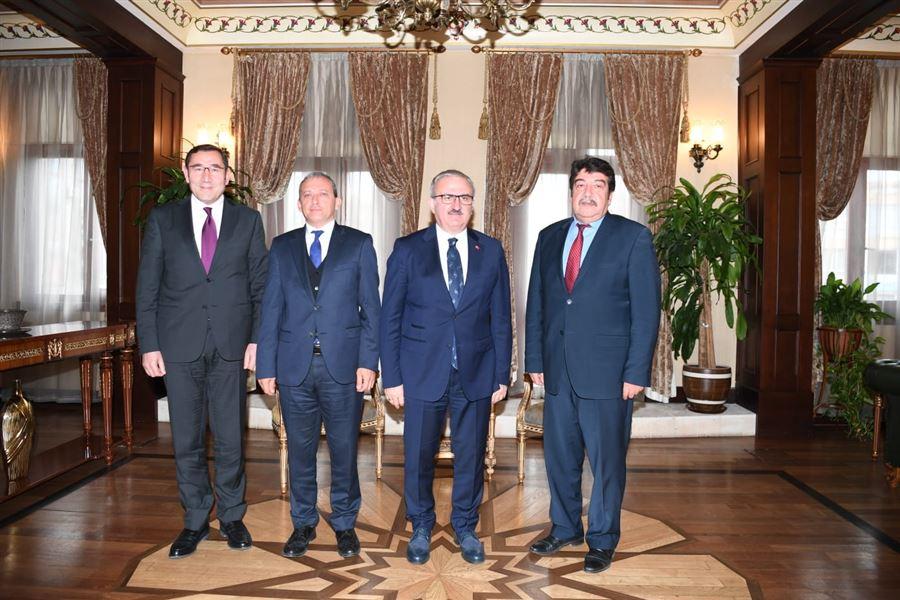 Bölge Müdürümüz Antalya Valisini Makamında Ziyaret Etti