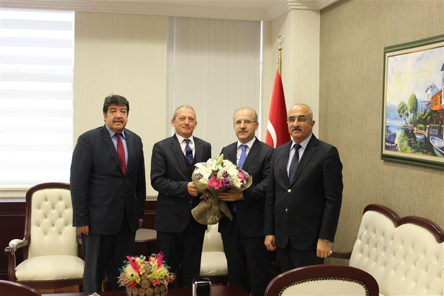 Bölge Müdürümüz Antalya Cumhuriyet Başsavcısını Ziyaret Etti