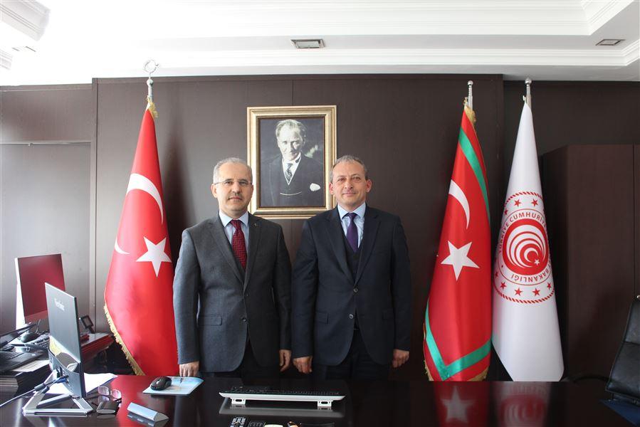 Antalya Cumhuriyet Başsavcısı, Bölge Müdürümüze İade-i Ziyarette bulundu.