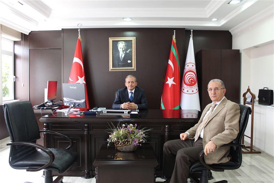 Antalya Vali Yardımcısı, Bölge Müdürümüze İade-i Ziyarette Bulundular