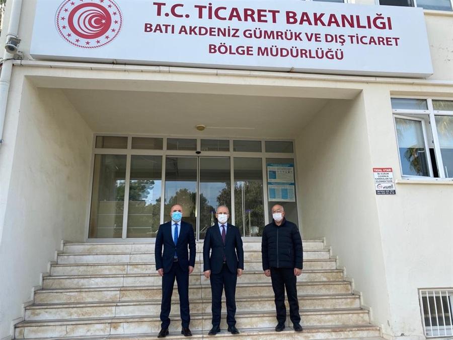 Antalya Cumhuriyet Başsavcımız Bölge Müdürümüze Ziyarette Bulundu