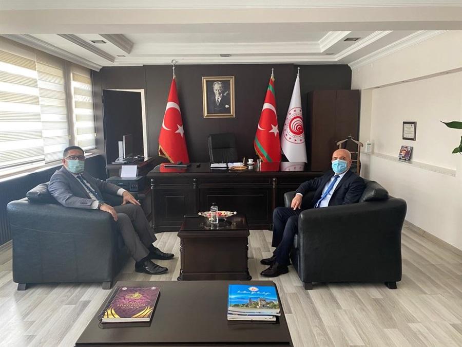 Türkiye İstatistik Kurumu Antalya Bölge Müdürü Bölge Müdürümüze Ziyarette Bulundu