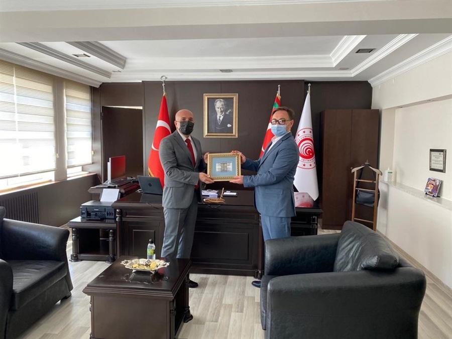 Ukrayna'nın Antalya Konsolosu Sayın Emir RUSTAMOV Bölge Müdürlüğümüze Ziyarette Bulundu